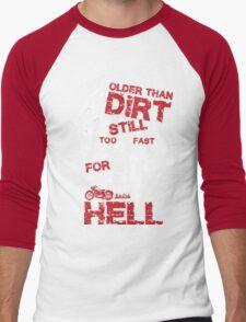 Older Than Dirt Men's Baseball ¾ T-Shirt