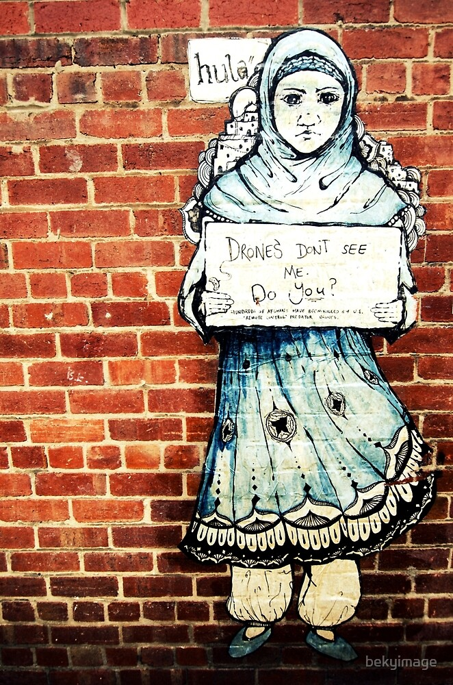 Message Wall - Geelong Street Art by bekyimage
