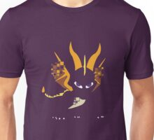 Pixel Silhouette: Spyro Unisex T-Shirt
