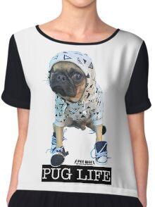 PUG LIFE PEE WEE Chiffon Top