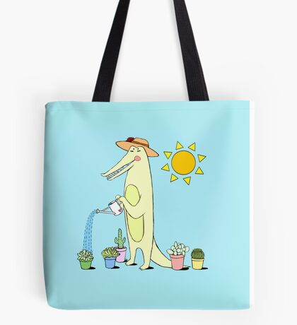 Garden Gator  Tote Bag