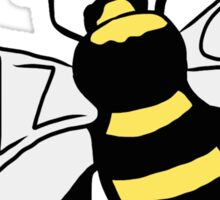 """ Buzz Off "" Bumble Bee Sticker"