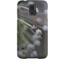 Bug on Leek Puff  Samsung Galaxy Case/Skin