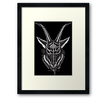 Baphomet Eyes Framed Print