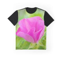 Rosa Rugosa - Beach Rose | Hampton Bays, New York Graphic T-Shirt