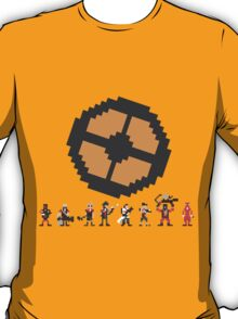 Pixel Fortress 2 - Red T-Shirt