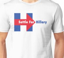 Settle for Hillary Unisex T-Shirt