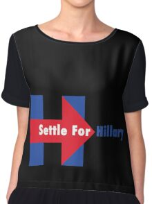 Settle for Hillary Chiffon Top