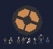 Pixel Fortress 2 - Blu by Scott Duncan
