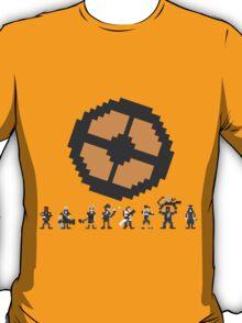 Pixel Fortress 2 - Blu T-Shirt