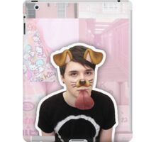Puppy Filter Dan Howell Aesthetic Collage iPad Case/Skin