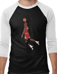 Michael Jordan Dunk Men's Baseball ¾ T-Shirt