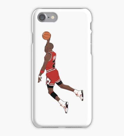 Michael Jordan Dunk iPhone Case/Skin