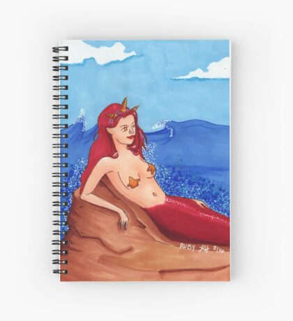 Ruby (July) Spiral Notebook