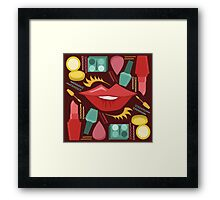 Magic's in the Makeup Framed Print