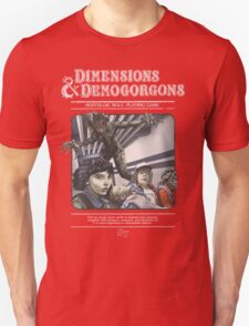 Dimensions & Demogorgons Unisex T-Shirt