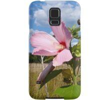 Common Marshmallow Wildflower - Althaea officinalis Samsung Galaxy Case/Skin
