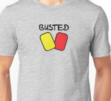 Busted v1 (Black Text) Unisex T-Shirt