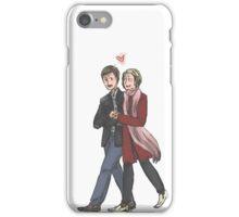 John Watson and Mary Morstan iPhone Case/Skin