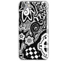 Gears Zentangle iPhone Case/Skin