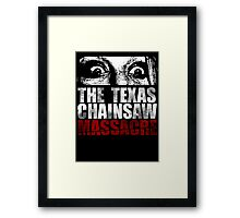 The Texas Chainsaw Massacre Framed Print