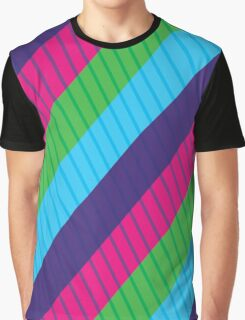 Awesome Stripes Graphic T-Shirt