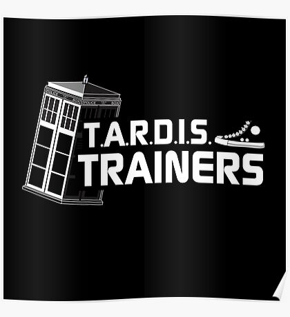 TARDIS Trainers Poster