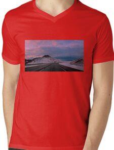 November Dusk Mens V-Neck T-Shirt