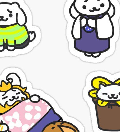 Monster Atsume: Goat fam Sticker