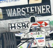 Johnny Herbert - Stewart GP Victory 1999 Sticker