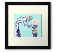 Chellakai heightness Framed Print
