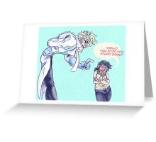Chellakai heightness Greeting Card