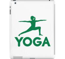 Yoga sports woman iPad Case/Skin