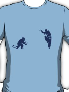 Monkey Kung Fu with Knife T-Shirt