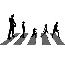 Guardians of the Galaxy - Abbey Road Beatles Photographic Print