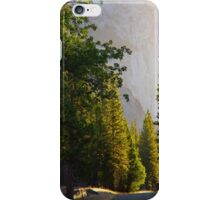 Sunrise over Trees and King's Canyon Road iPhone Case/Skin