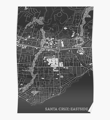 Santa Cruz Eastside Poster