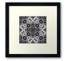 tarot mandala Framed Print