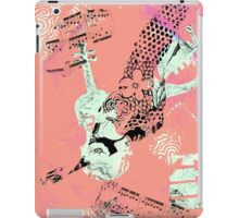 Musical Memories 5 Faux Chine Colle Monoprint Var 1 iPad Case/Skin
