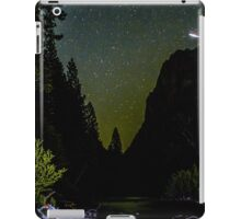 Meteor Shooting Over King's Canyon Stream iPad Case/Skin
