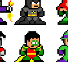 8-bit Gotham Sticker