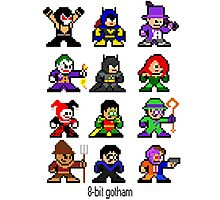 8-bit Gotham Photographic Print
