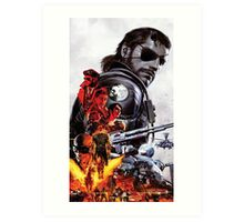 Metal Gear Solid V Definitive Experience prints Art Print