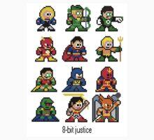 8-bit Justice League Kids Clothes