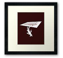 Stranger Things: The Upside Down Framed Print