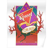 Groot Beer Oak Lager Poster