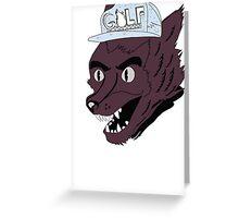tyler wolf Greeting Card