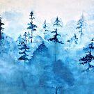 Blue Woods Duvet by Sophersgreen