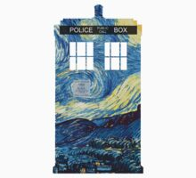 Van Gogh's TARDIS One Piece - Short Sleeve