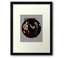 Kevin Owens v Sami Zayn Framed Print